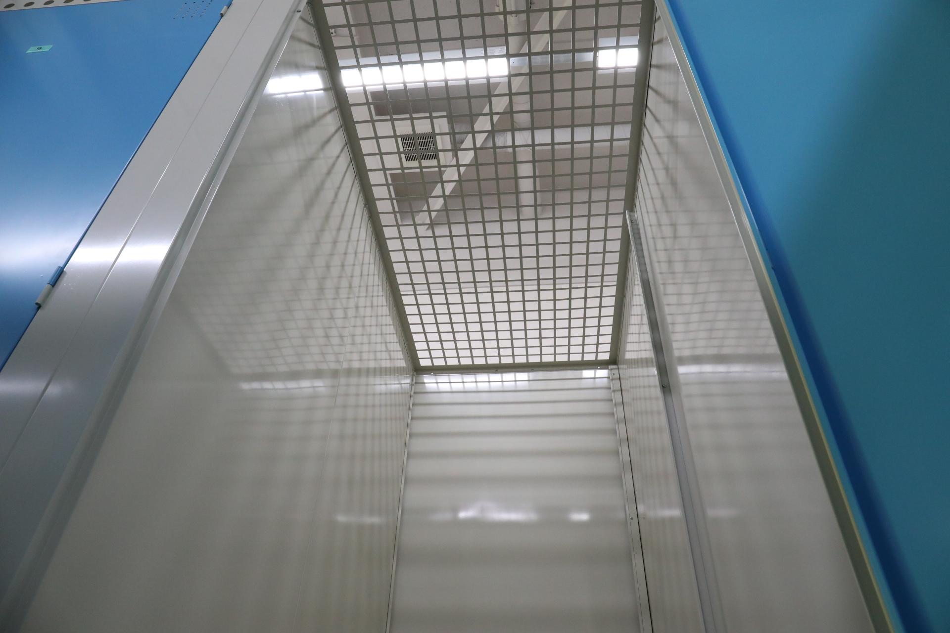 札幌豊平区のトランクルーム天井