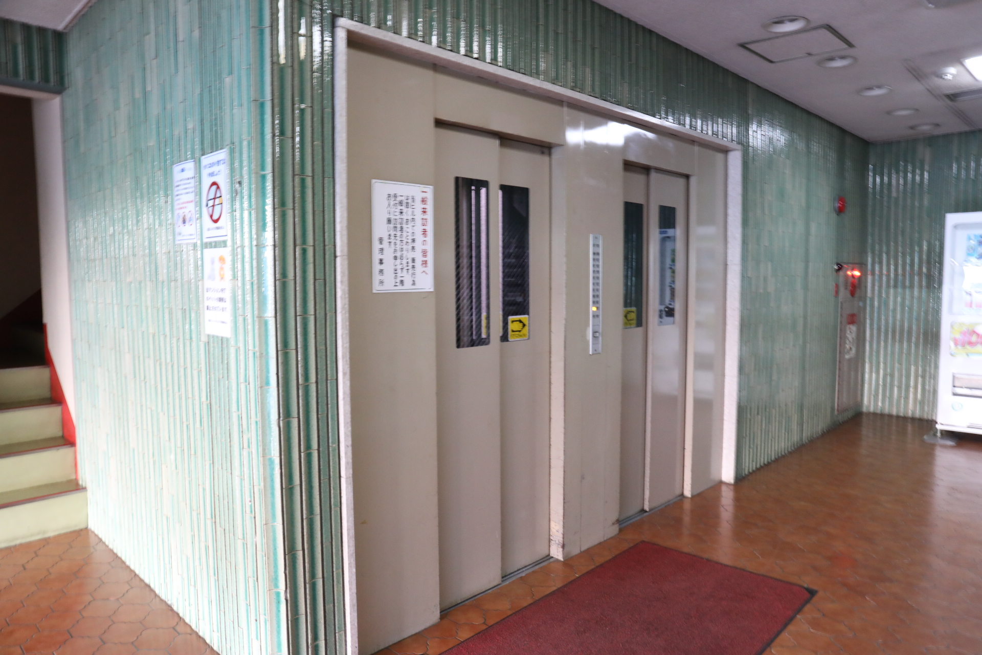 札幌トランクルームエレベーター