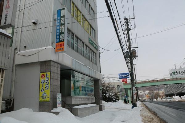 トランクルーム札幌市南区川沿店舗外観