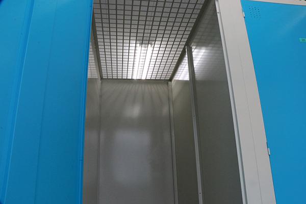 トランクルーム札幌川沿店天井